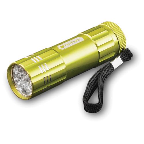 Go Green 9 LED Flashlight (Lime Green)