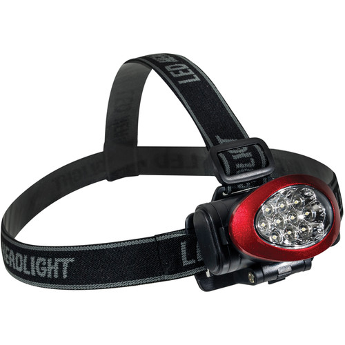 Go Green 10 LED Headlight (Red)