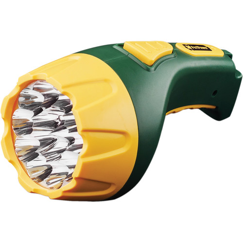 Go Green 15-LED Rechargeable Flashlight