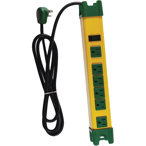Go Green 6-Outlet Metal Surge Protector