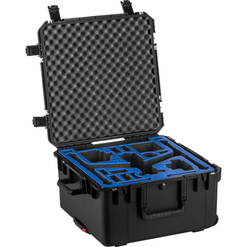 Go Professional Cases Hard Case for DJI Inspire 2, Cendence, CrystalSky, and X7 Camera (Travel Mode)