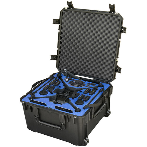 Go Professional Cases Wheeled Hard-Shell Case for DJI Matrice 200/210 Drones
