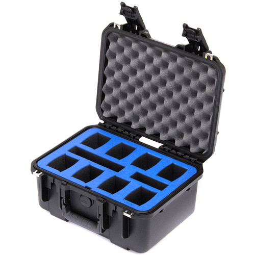 Go Professional Cases Carrying Case for 8 DJI Phantom 4/Pro/Pro+ Batteries, Charger & Accessories