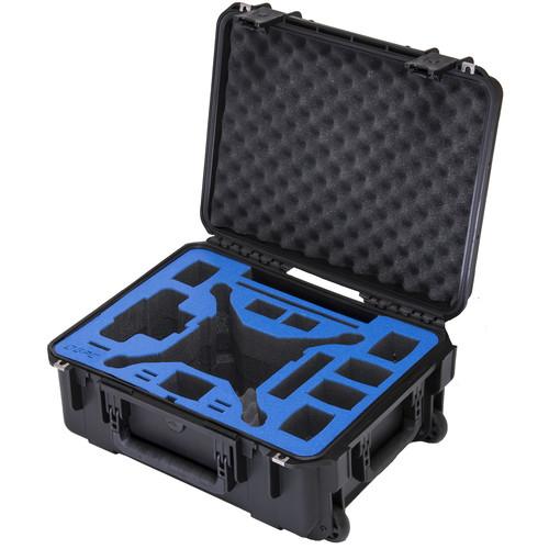 Go Professional Cases Compact Carrying Case with Wheels for DJI Phantom 4 / Phantom 4 Pro / Phantom 4 Pro+