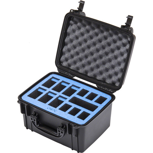 Go Professional Cases Battery Case for 6 DJI Inspire 1 & 6 Phantom Batteries