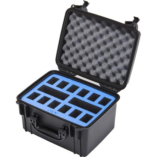 Go Professional Cases Hard Case for 12 DJI Phantom Batteries