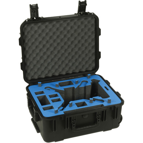 Go Professional Cases XB-DJI-Vision Hard Case for DJI Phantom 2 Vision with Wheels