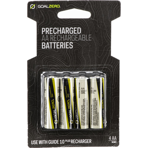 GOAL ZERO NiMH AA Batteries for Guide 10 Plus Recharger (4-Pack)