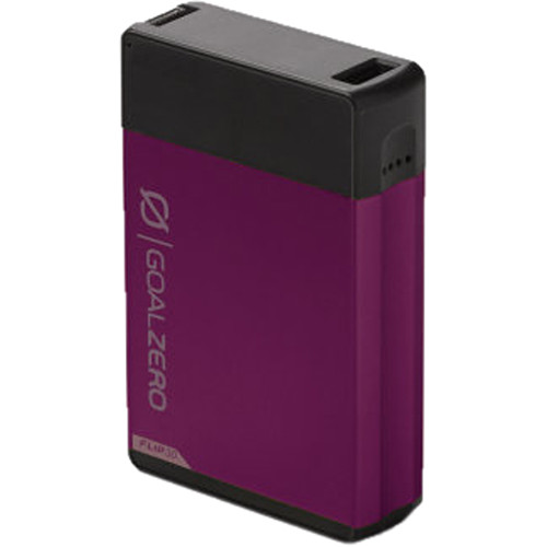 GOAL ZERO Flip 30 Portable Battery with Recharger for Nomad Panel (Plum)