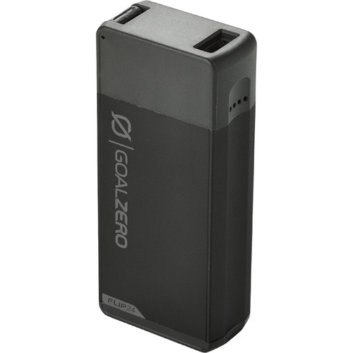 GOAL ZERO Flip 24 6700mAh Portable Power Station (Black)