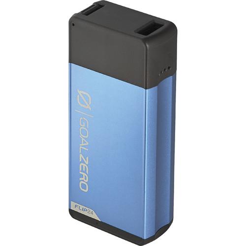 GOAL ZERO Flip 24 6700mAh Portable Power Station (Slate Blue)