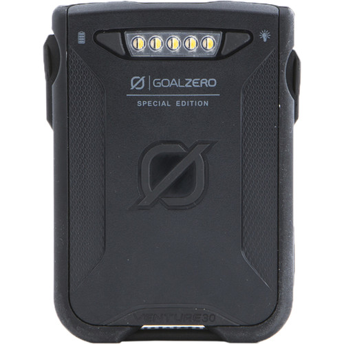 GOAL ZERO Venture 30 Portable Battery Pack (Black)