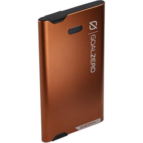 GOAL ZERO Sherpa 15 Power Bank Micro-USB & Lightning Connector (Copper)