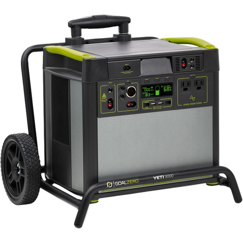 GOAL ZERO Yeti 3000 Lithium Portable Power Station With WiFi