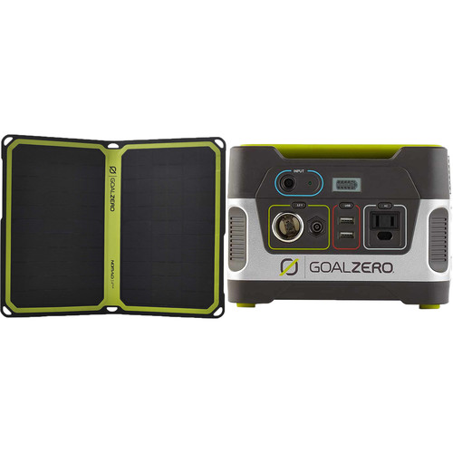 GOAL ZERO Yeti 150 Portable Power Station & Nomad 14 Plus Solar Panel Kit