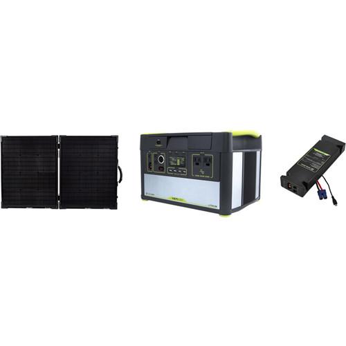 GOAL ZERO Yeti 1000 Lithium Portable Solar Generator Kit