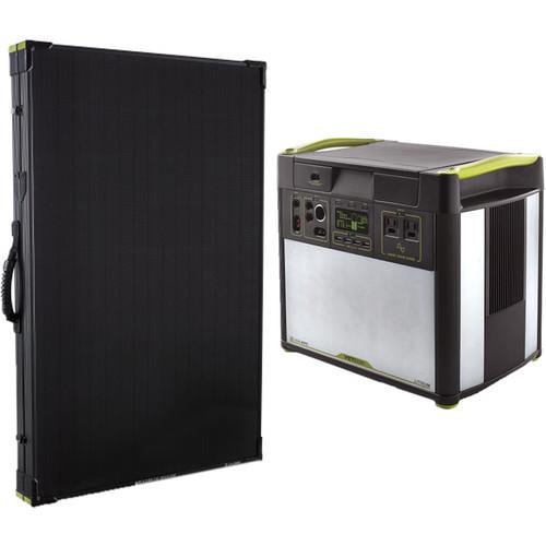 GOAL ZERO Yeti 3000 Lithium Solar Power Station with Boulder 200 Briefcase Solar Panel Kit