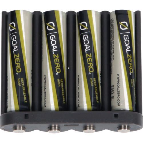 GOAL ZERO Rechargeable AAA Batteries - 4 Pack
