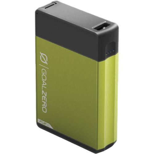 GOAL ZERO Flip 30 Portable Charger for USB Devices (GOAL ZERO Green)
