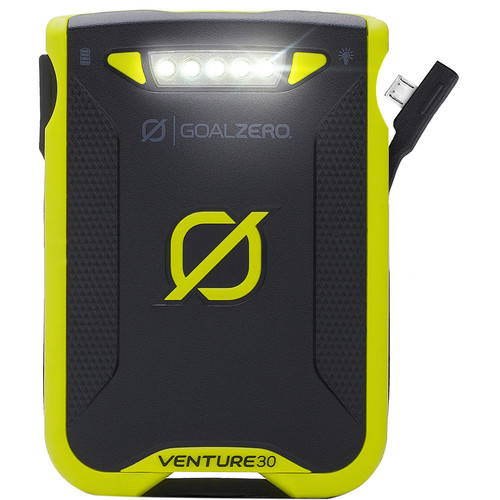 GOAL ZERO Venture 30 Portable Battery Pack (Green)