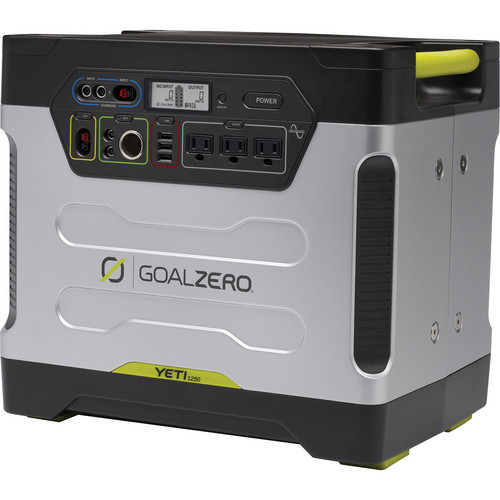 GOAL ZERO Yeti 1250 Solar Generator Power Pack Kit