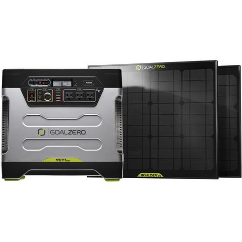 GOAL ZERO Yeti 1250 Solar Generator Power PackKit