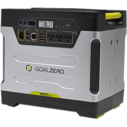 GOAL ZERO Yeti 1250 Portable Power Station with Boulder Briefcase Solar Kit
