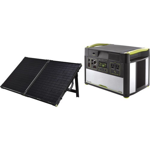 GOAL ZERO Yeti Lithium 1400 Portable Power Station with Boulder Briefcase Solar Kit