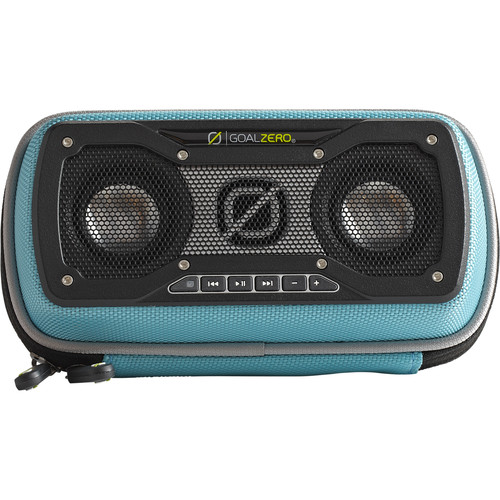GOAL ZERO Rock Out 2 Portable Bluetooth Solar Speaker (Teal)