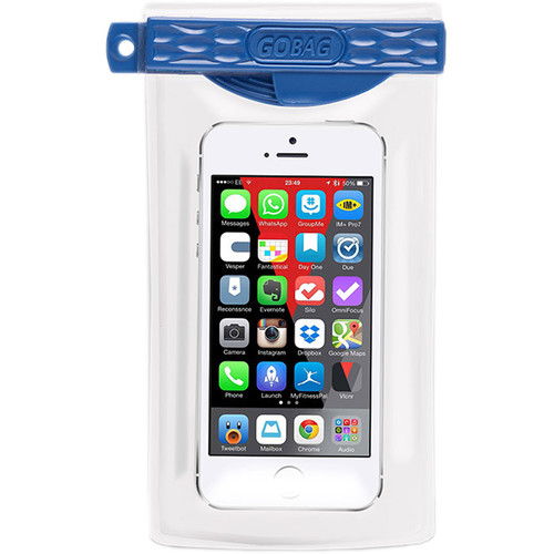 GoBag Minnow Waterproof Smartphone Bag (Blue)