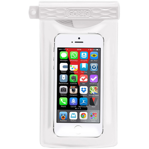 GoBag Minnow Waterproof Smartphone Bag (White)