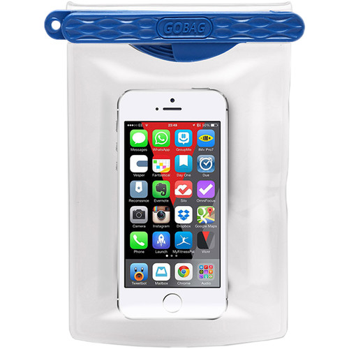 GoBag Dolphin Waterproof Smartphone Bag (Blue)