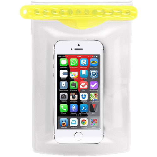 GoBag Dolphin Waterproof Smartphone Bag (Yellow)