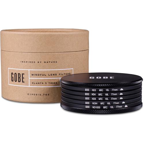 Gobe 77mm ND Family 2Peak ND Filter Kit (1, 2, 3, 6, 10-Stop)