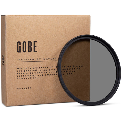 Gobe 43mm ND2 2Peak Solid Neutral Density 0.3 Filter (1 Stop)
