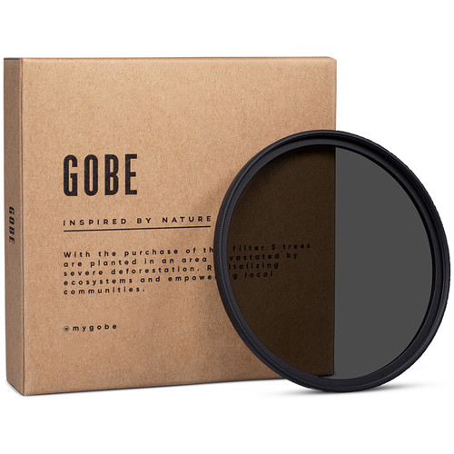 Gobe 82mm ND4 2Peak Solid Neutral Density 0.6 Filter (2 Stops)