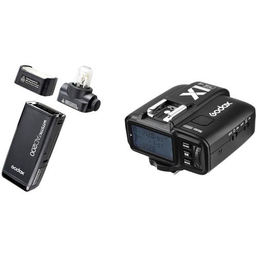 Godox AD200 TTL Pocket Flash with X1T-F Trigger Kit for Fujifilm Cameras