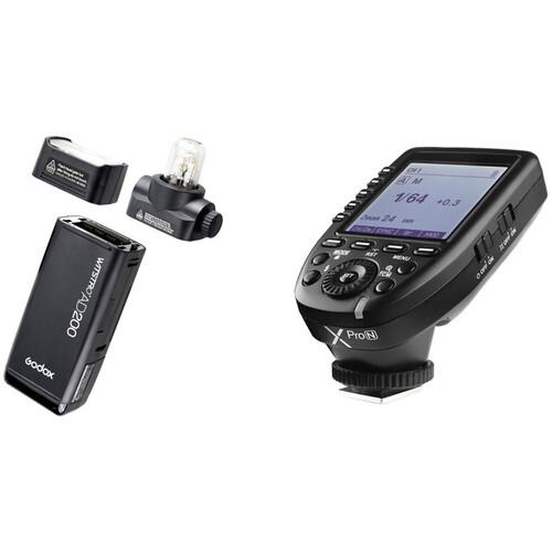 Godox AD200 TTL Pocket Flash with XProN Trigger Kit for Nikon Cameras