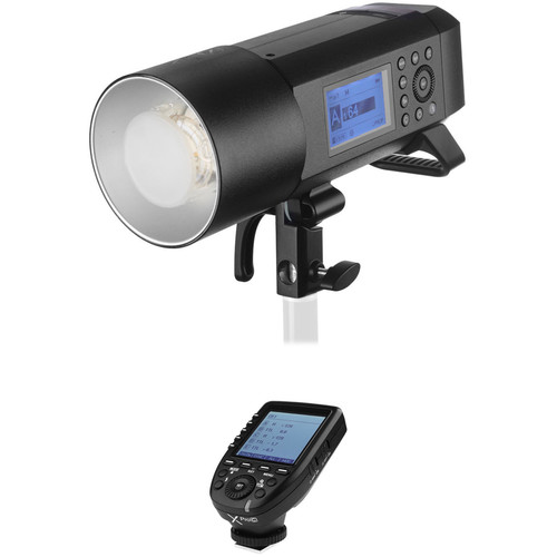 Godox AD400Pro Witstro All-In-One Outdoor Flash with XProC TTL Trigger Kit for Canon
