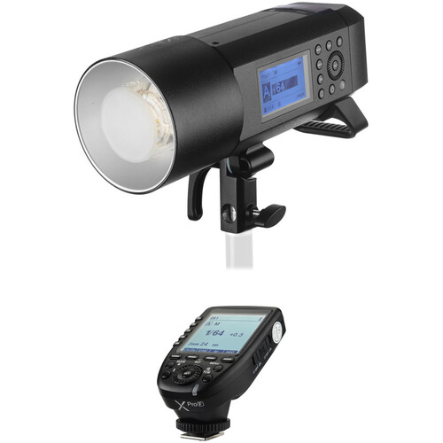 Godox AD400Pro Witstro All-In-One Outdoor Flash with XProF TTL Trigger Kit for FUJIFILM