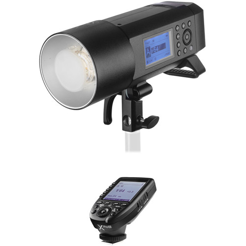 Godox AD400Pro Witstro All-In-One Outdoor Flash with XProN TTL Trigger Kit for Nikon