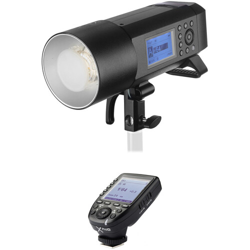 Godox AD400Pro Witstro All-In-One Outdoor Flash with XProO TTL Trigger Kit for Olympus/Panasonic