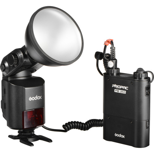 Godox AD360II-N WITSTRO TTL Portable Flash with Power Pack Kit for Nikon Cameras