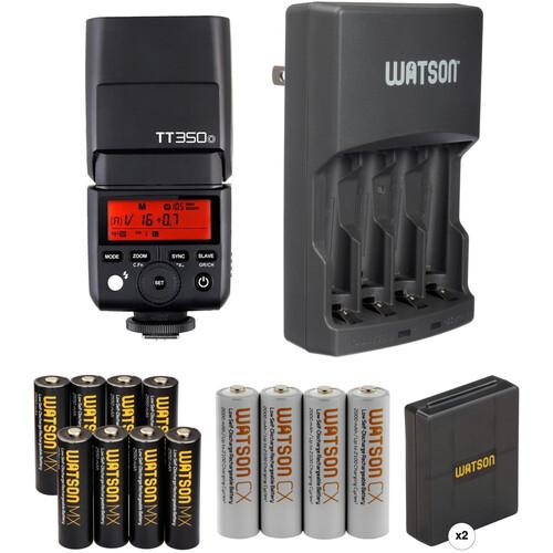 Godox TT350O Mini Thinklite Flash with Accessories Kit for Olympus/Panasonic Cameras