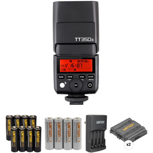 Godox Godox TT350S Mini Thinklite Flash with Accessories Kit for Sony Cameras