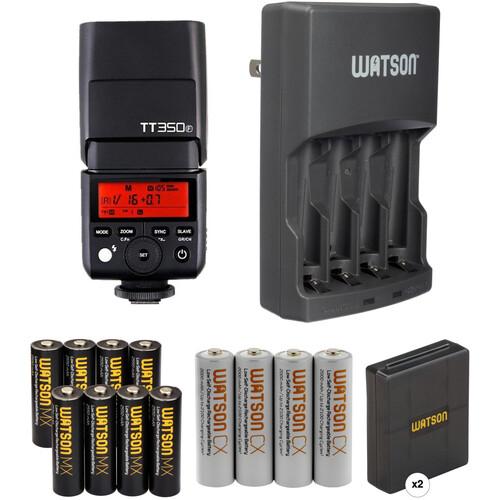 Godox Godox TT350C Mini Thinklite Flash with Accessories Kit for Fujifilm Cameras