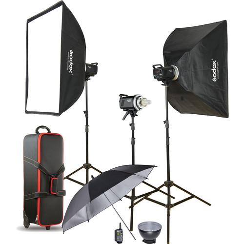 Godox - MS300-D 3-Monolight Kit