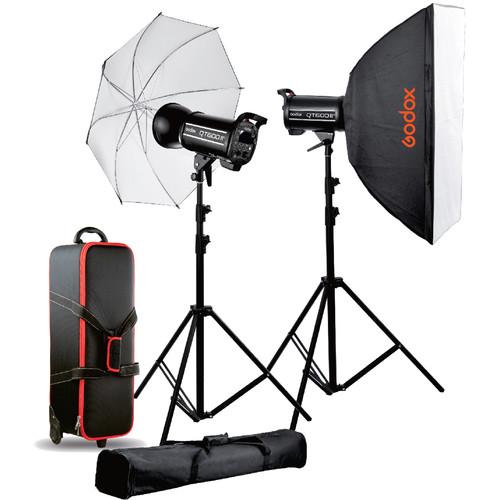 Godox QT600II 2-Light Studio Flash Kit