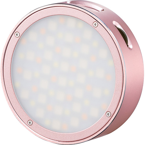 Godox Round Mini RGB LED Magnetic Light (Pink)