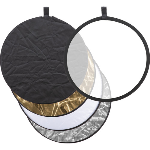 "Godox Collapsible 5-In-1 Reflector Disc (24"", Gold/Silver/Black/White/Translucent)"